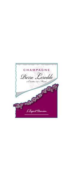 Champagne Pierre Leredde L'esprit Damien Rosé