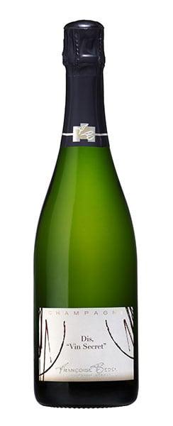 Champagne Françoise Bedel Dis, vin Secret