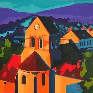 Brigitte Adam Eglise de Crouttes-sur-Marne