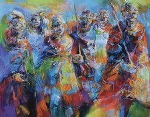 Frédéric Le Blay Danse Maasai