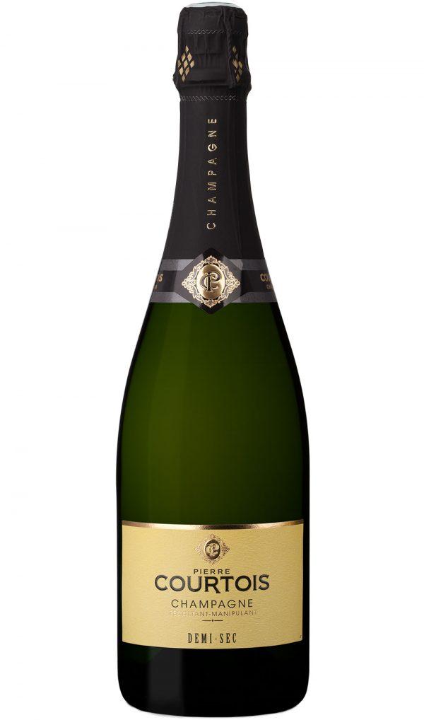Champagne Pierre Courtois Demi-Sec en vente sur FineEnBulles