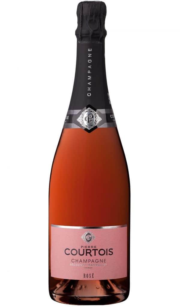 Champagne Rosé de la cave Champagne Pierre Courtois en vente