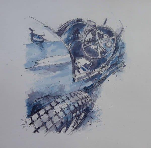 Orphie du Ligor - Avant la course