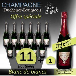 Champagne Duchenes-Bourgeois – Offre Spéciale Blanc de blancs