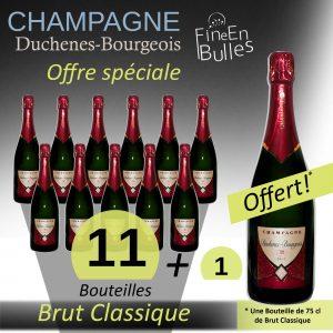 Champagne Duchenes – Bourgeois – Offre spéciale Brut classique