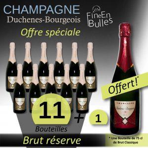 Champagne Duchenes-Bourgeois – Offre spéciale Brut réserve