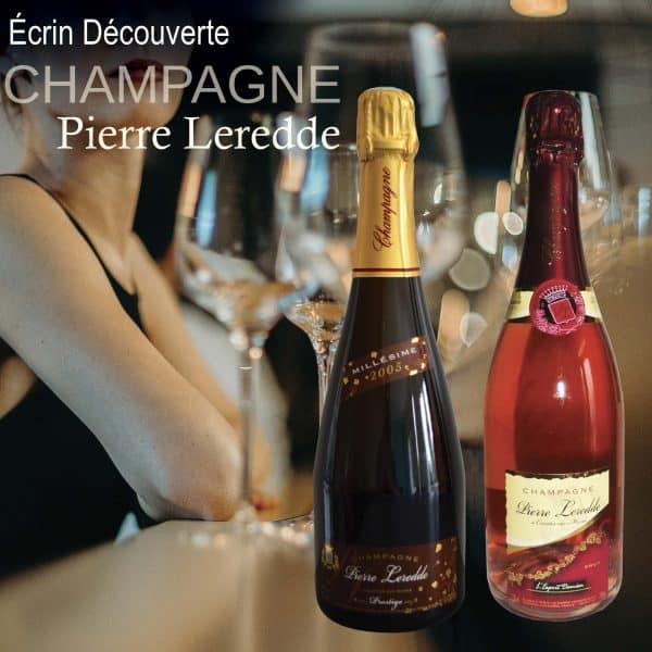 Ecrin Découverte Champagne Pierre Leredde