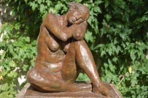 Bénédicte Calvet – Jeune fille aux couettes
